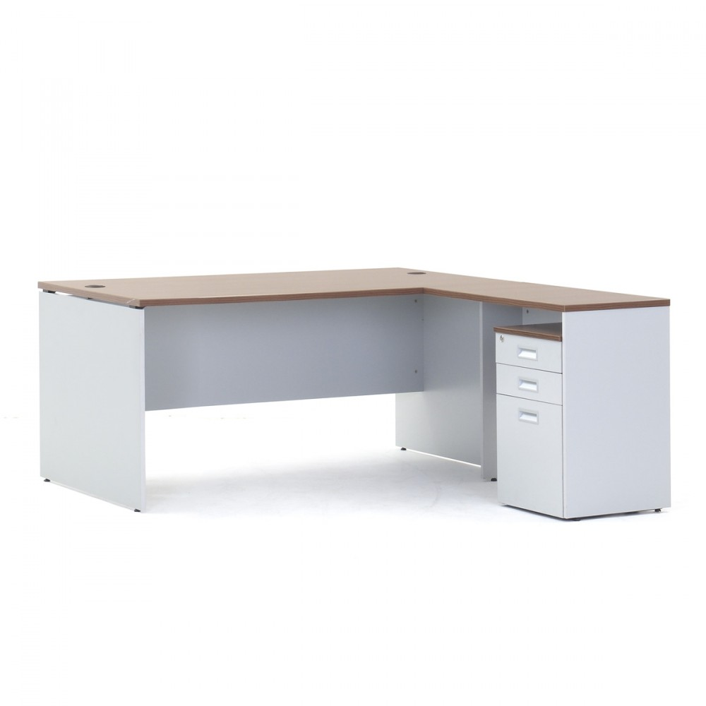 Show Details For 1500mm - Versaline Executive Table with Pedestal Office Executive Tables