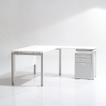 Show Details For Edge Executive Table  -1800 with Pedestal Office Best Sellers