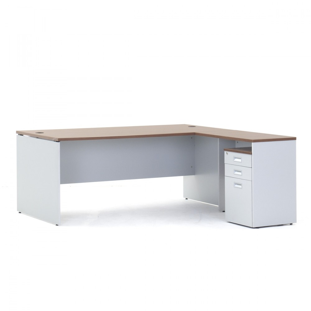 Versaline Executive Table with Pedestal