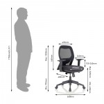 Show Details For Anatom Medium Back Office Chairs