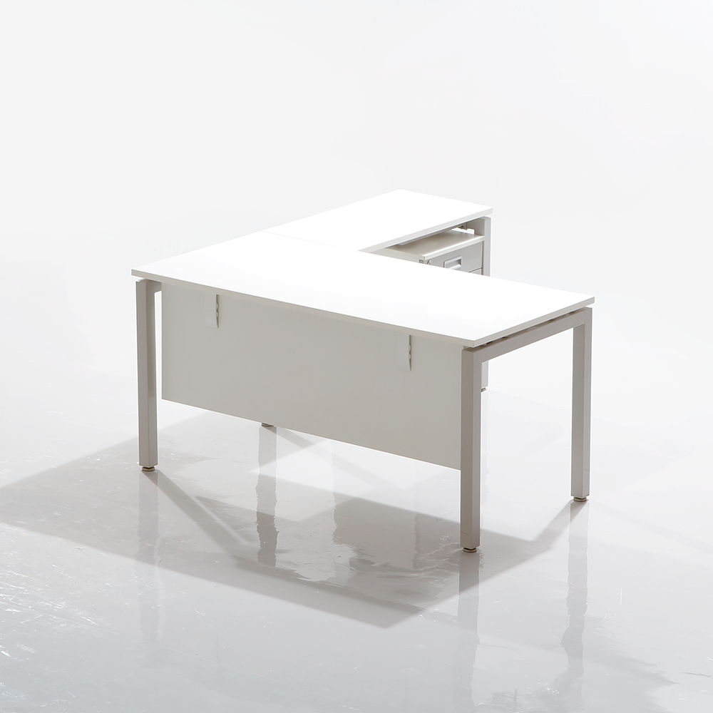 Edge Executive Table -1500mm with Pedestal
