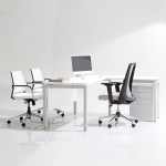 Show Details For Edge Executive Table -1500mm with Pedestal Office Executive Tables