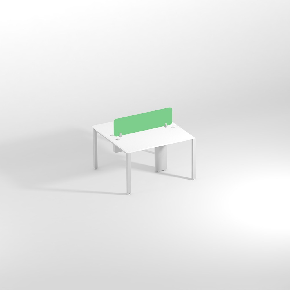 Show Details For Linear Two Seater Sharing - 1200 mm Office Work From Home