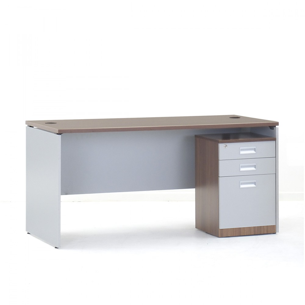 Show Details For Versaline Table -1500mm with Pedestal Office Executive Tables