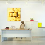 Show Details For Versaline Table with Pedestal  Office Cabin