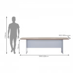 Show Details For 2400mm - Versaline Meeting Table Office Discussion / Meeting Tables